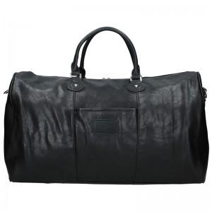 Trendy cestovní taška David Jones Travel - černá
