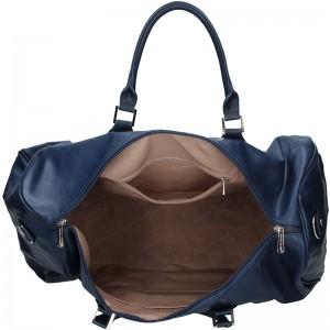 Trendy cestovní taška David Jones Travel - modrá