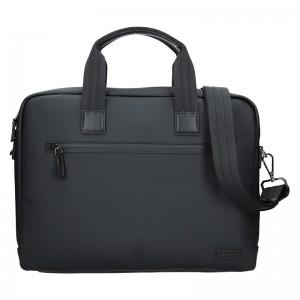 Pánská vodě odolná taška na notebook Hexagona Legend - černá