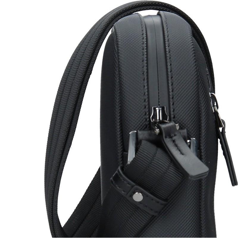 Pánská vodě odolný taška přes rameno Hexagona Venla - černá
