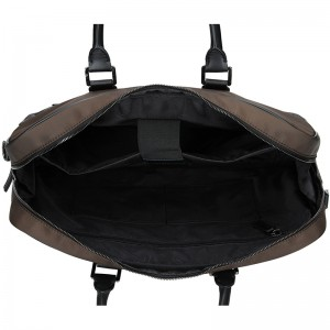 Pánská taška na notebook Hexagona Aarvold - hnědo-černá