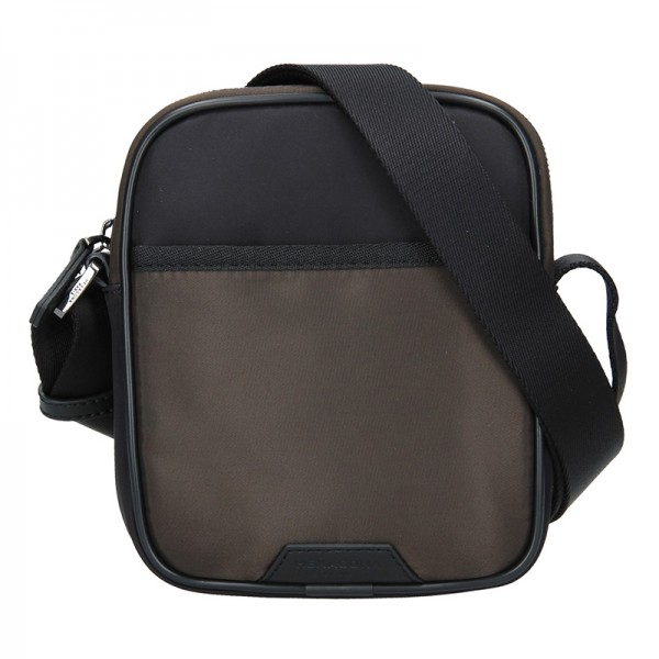 Pánská taška přes rameno Hexagona Bergh - černo-hnědá