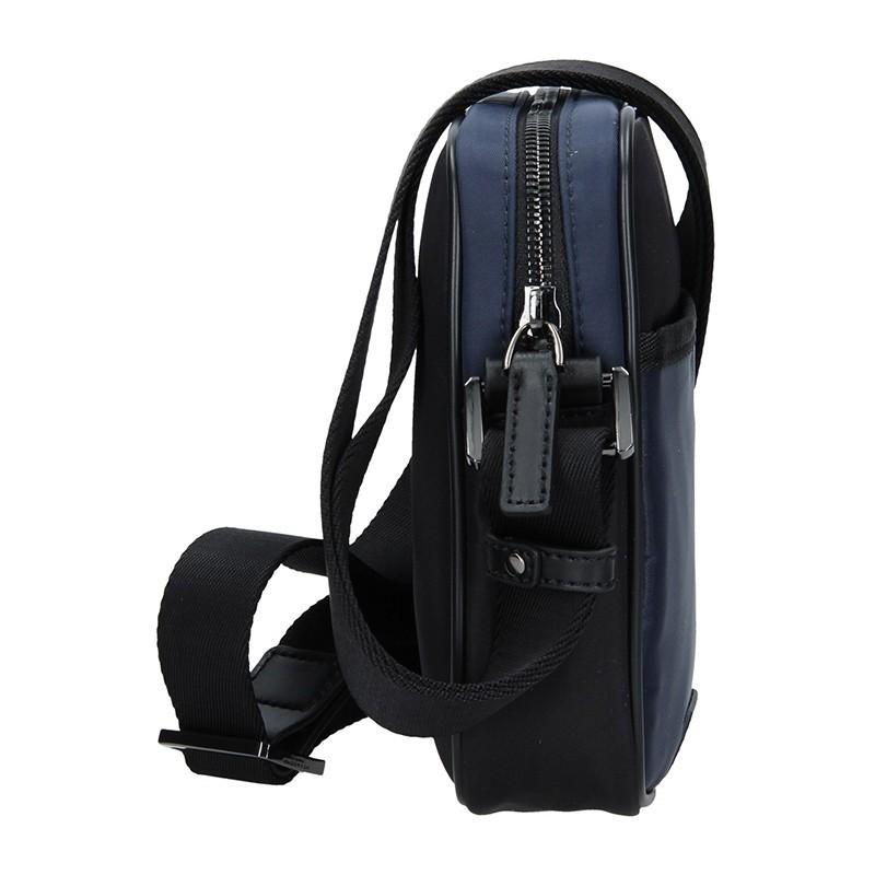 Pánská taška přes rameno Hexagona Bergh - černo-modrá