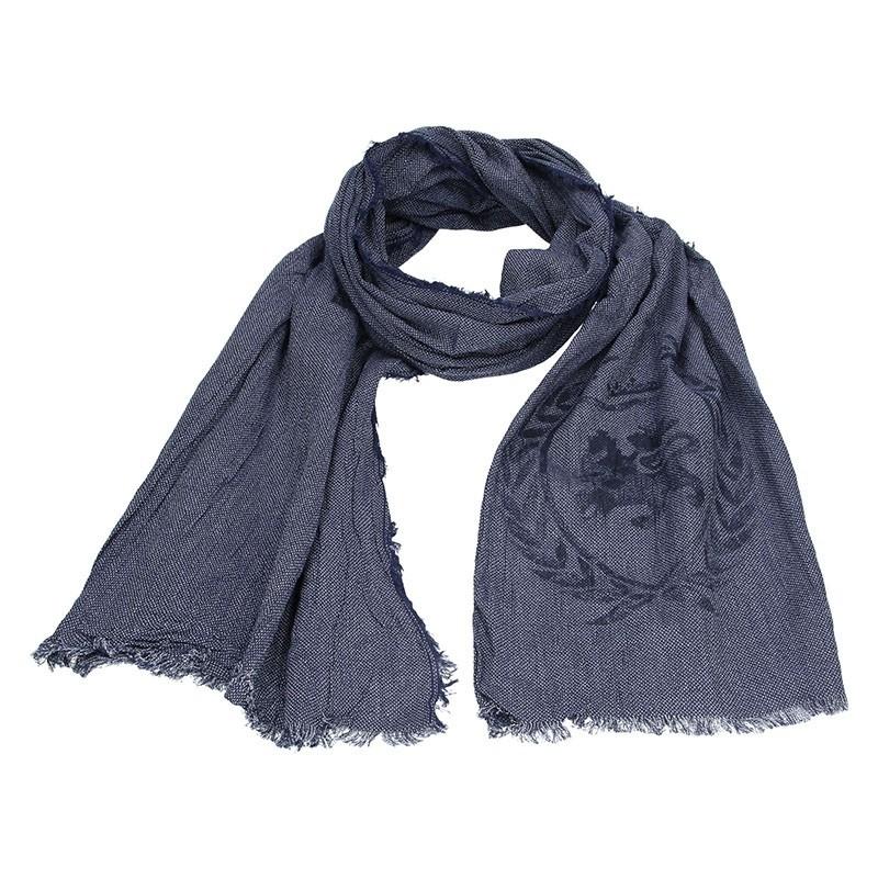 7e7266f4b23 Elegantní pánská šála Lerros Merlin - modrá