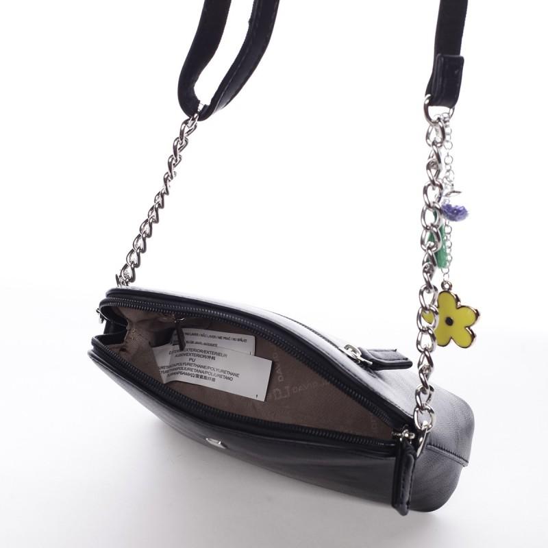 Dámská crossbody kabelka David Jones Ivona - černá