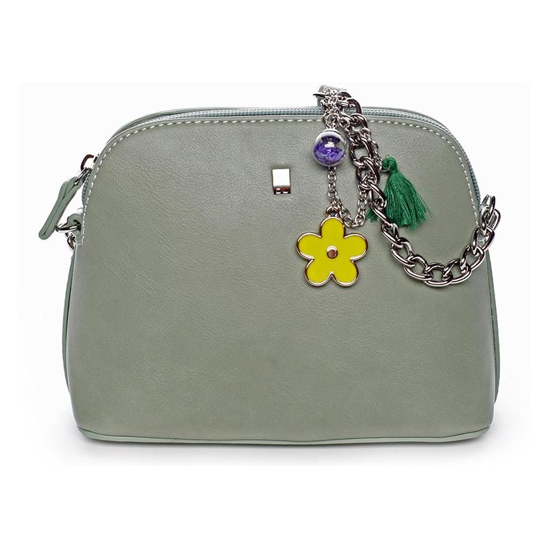 9f9d871512 Dámská crossbody kabelka David Jones Ivona - světle zelená