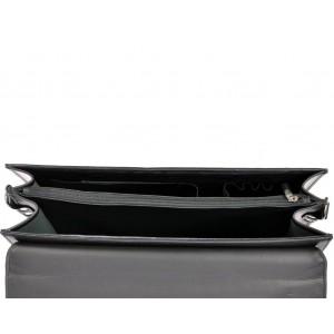 Luxusní pánská aktovka Daag Odin - černá