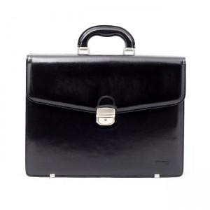 Luxusní pánská kožená taška Daag Noel - černá