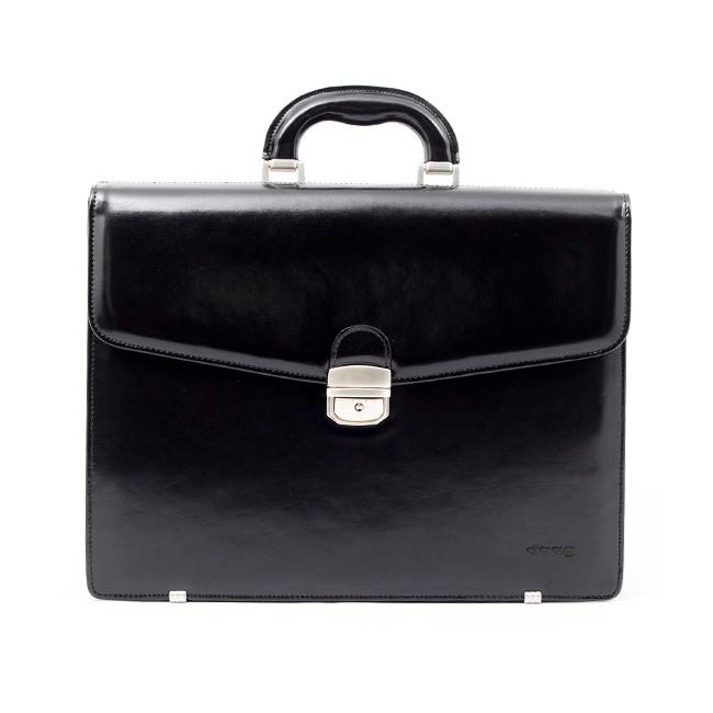 9256fbb81 Luxusní pánská kožená taška Daag Noel - černá