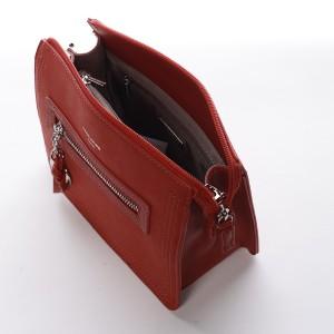 Dámská crossbody kabelka David Jones Elena - červená