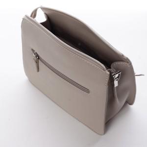 Dámská crossbody kabelka David Jones Elena - béžová