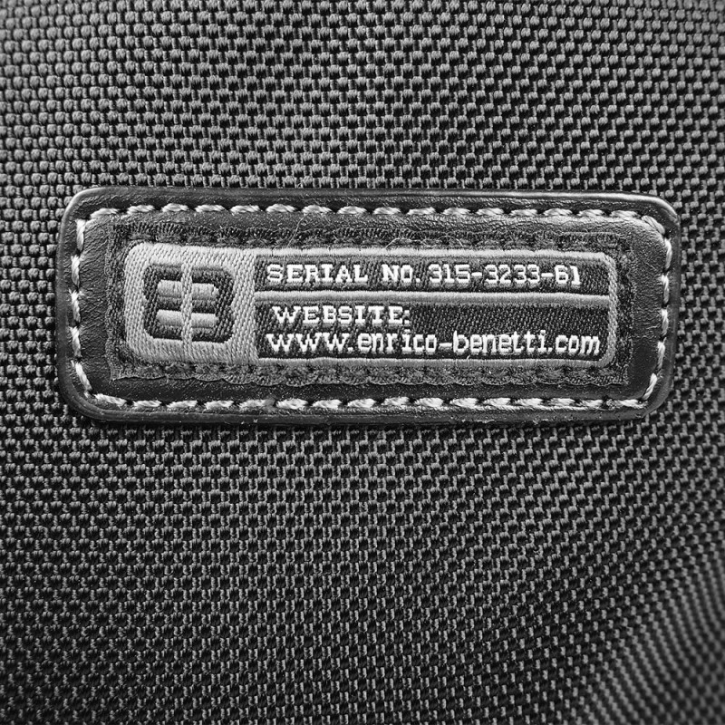 Pánská taška na doklady Enrico Benetti Kenny - černá