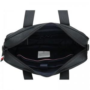 Pánská taška na notebook Tommy Hilfiger Favio - černá