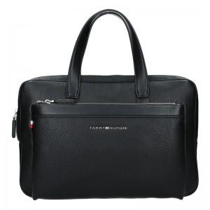 Pánská taška na notebook Tommy Hilfiger Ronny - černá