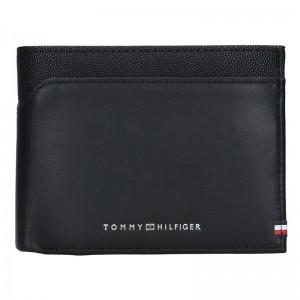 Pánská kožená peněženka Tommy Hilfiger Jimmy - černá