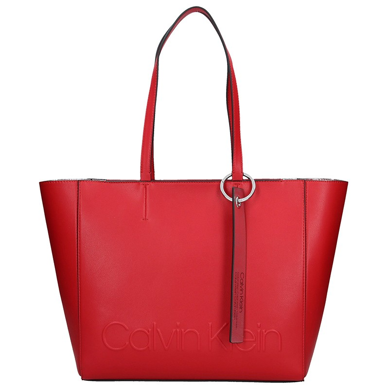 Dámská kabelka Calvin Klein Kamila - červená