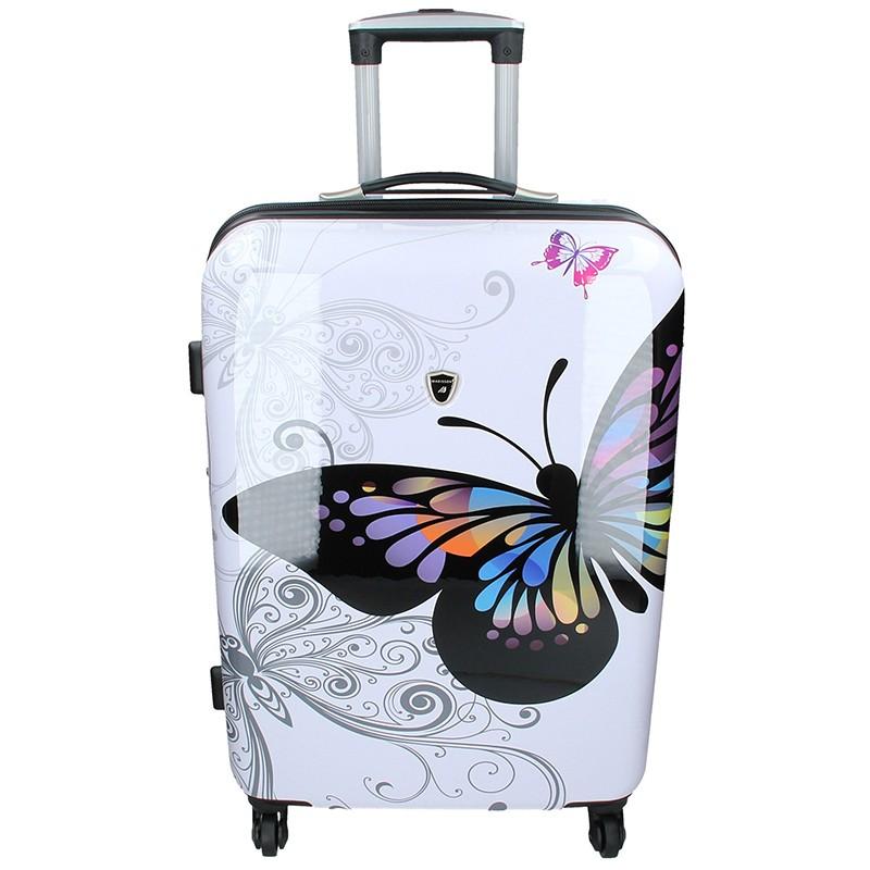 Cestovní kufr Madisson Ritta L - bílá 66l