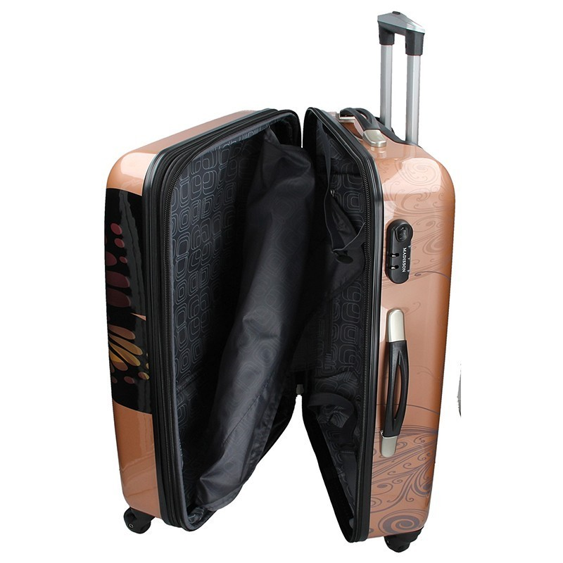 Cestovní kufr Madisson Ritta L - bílá