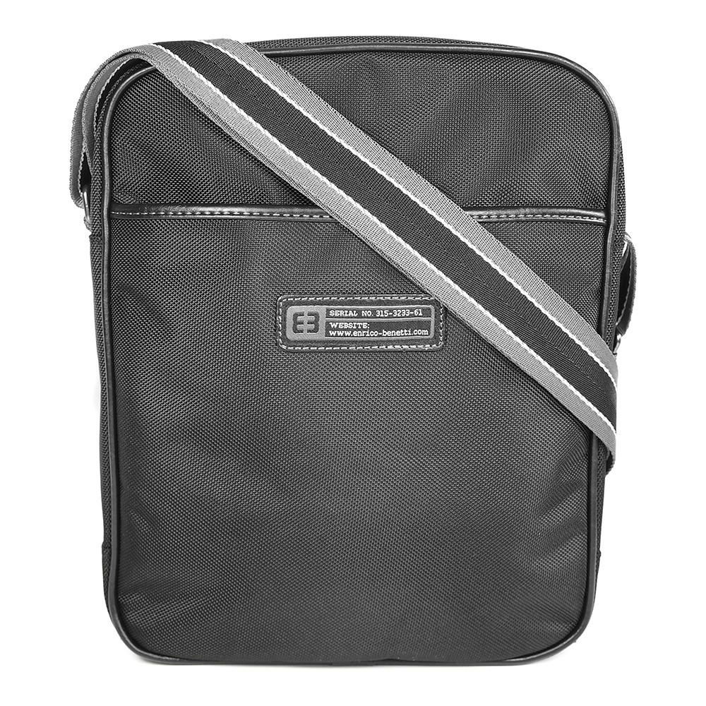 Pánská taška přes ramno Enrico Benetti Lowell - černá ef96395774