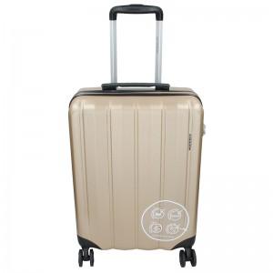 Cestovní kufr Marina Galanti Nova S - zlatá