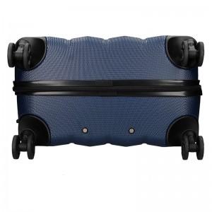 Sada 3 cestovních kufrů Marina Galanti Nova S, M, L - černá