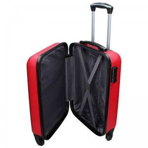 Cestovní kufr Madisson Reina S - červená