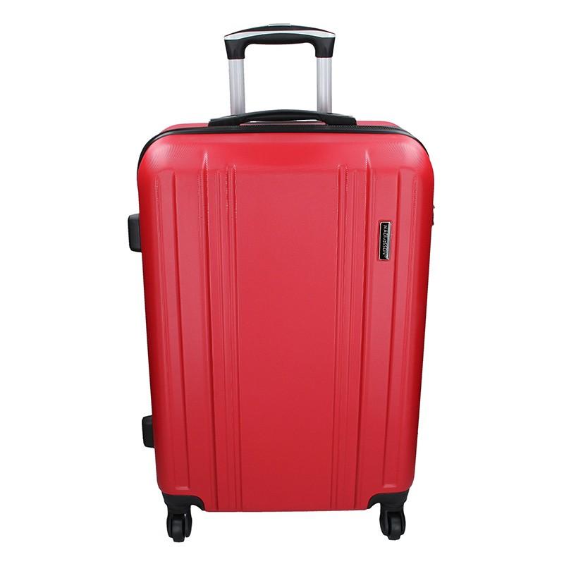 Cestovní kufr Madisson Reina M - červená 59l