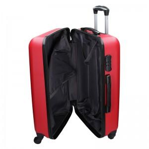 Cestovní kufr Madisson Reina M - červená