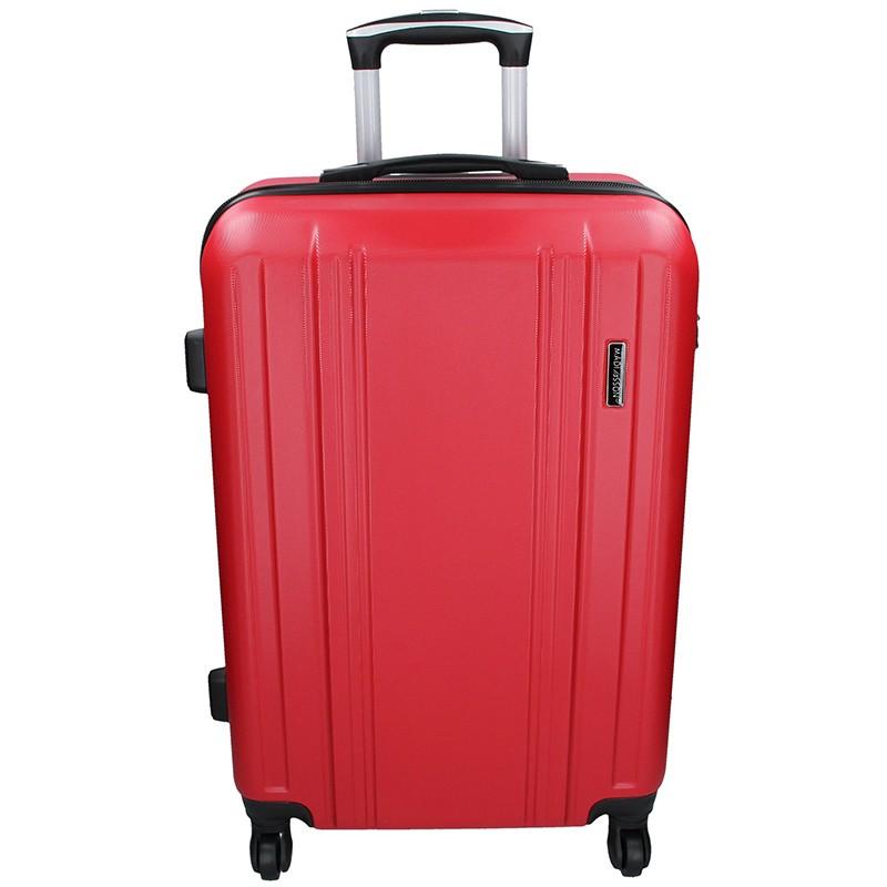 Cestovní kufr Madisson Reina L - červená 89l