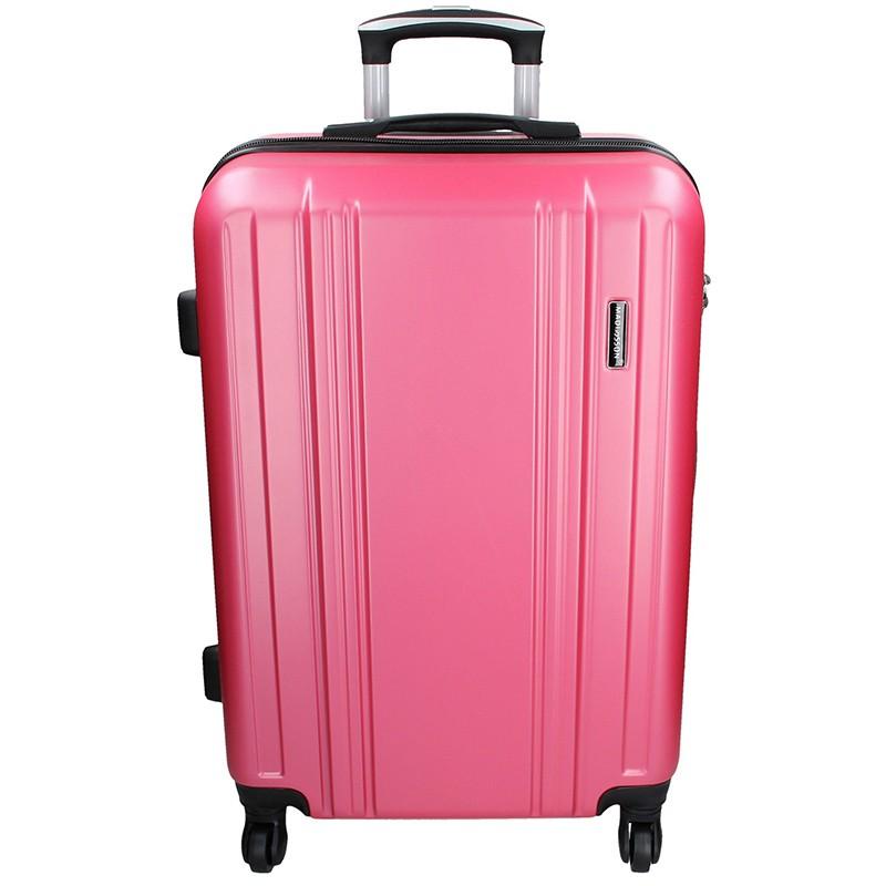 Cestovní kufr Madisson Reina L - růžová 89l