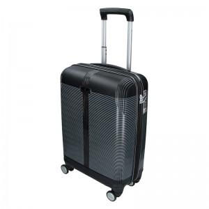 Cestovní kufr Snowball Endrs - černá