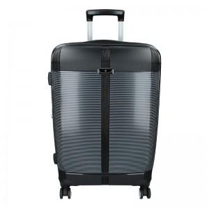 Cestovní kufr Snowball Endrs M - černá