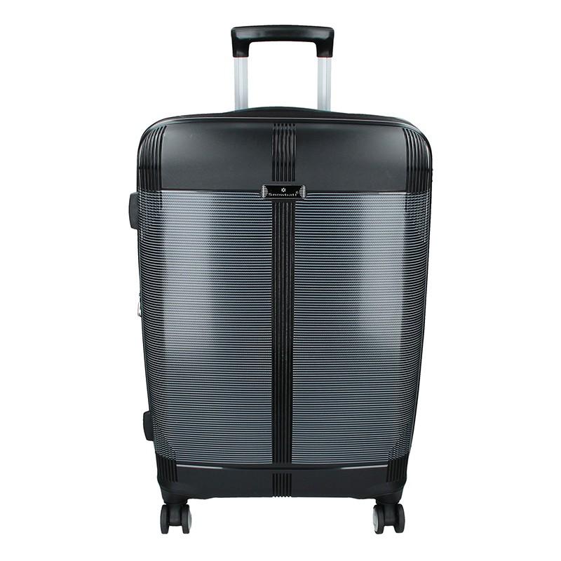Cestovní kufr Snowball Endrs M - černá 79l