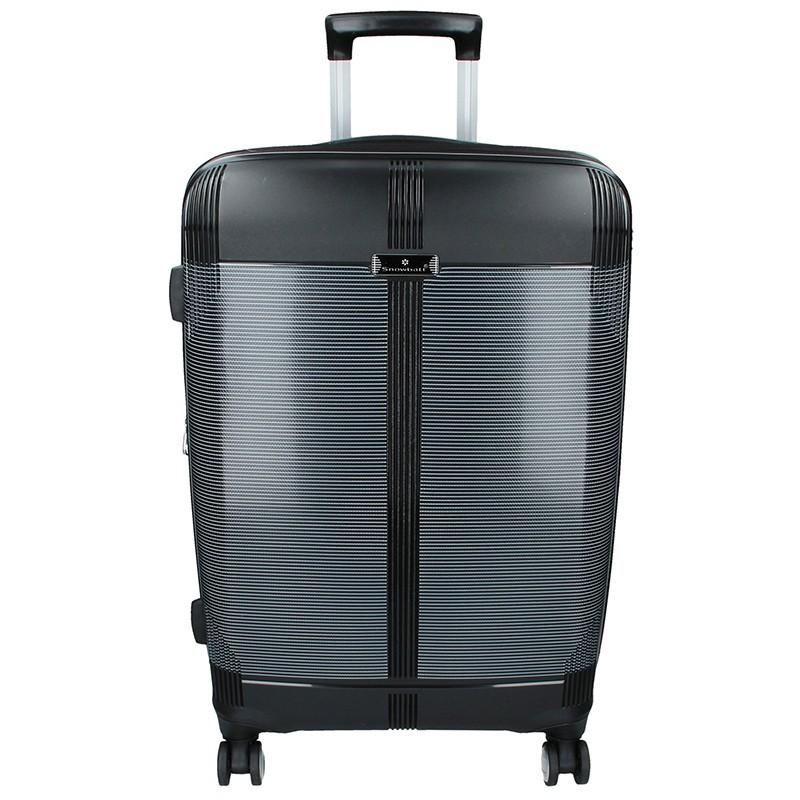 Cestovní kufr Snowball Endrs L - černá 117l