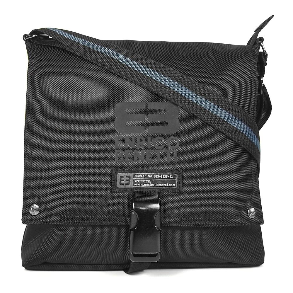 Pánská taška přes rameno Enrico Benetti Rodger - černá e32b01df01