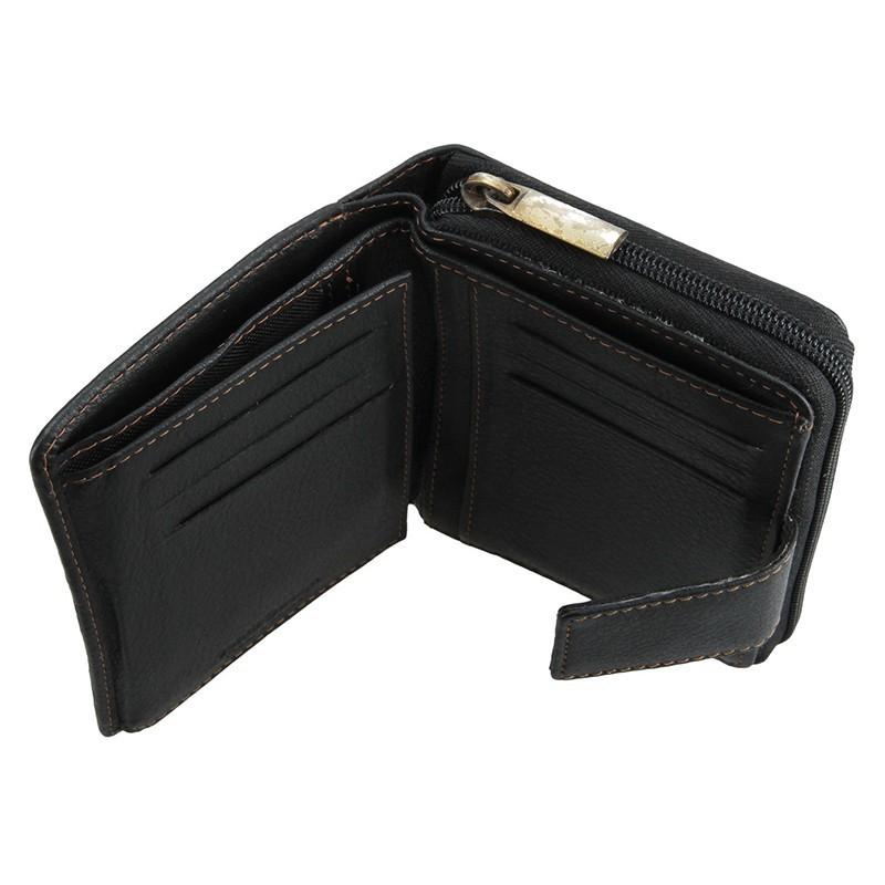 Dámská kožená peněženka SendiDesign Mona - černá
