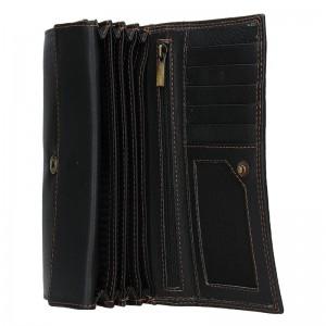Dámská kožená peněženka SendiDesign Olga - černá