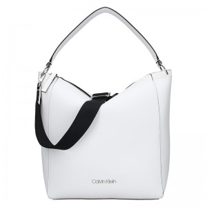 Dámská kabelka Calvin Klein Silva - bílá