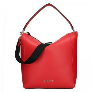 Dámská kabelka Calvin Klein Silva - červená