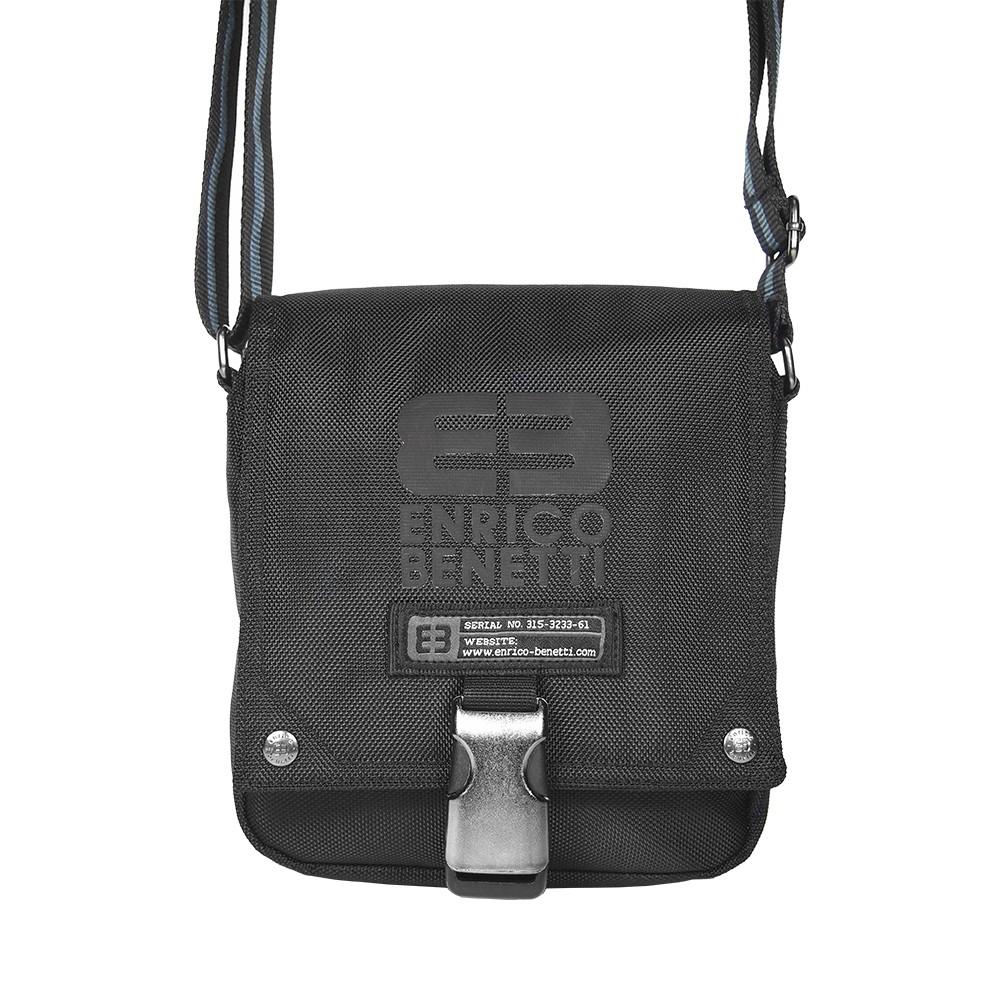 Pánská taška přes rameno Enrico Benetti Peter - černá 619d563679