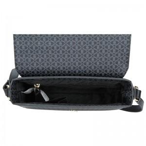 Dámská crossbody kabelka U.S. POLO Monic - černá