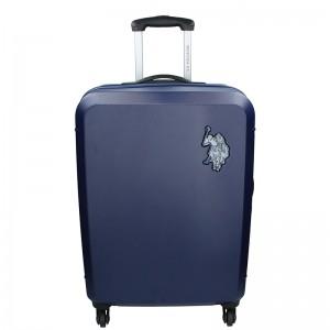 Cestovní kufr U.S. POLO ASSN PALMS L - modrá