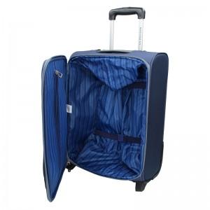 Kabinový cestovní kufr U.S. POLO ASSN. Mauris S - modrá