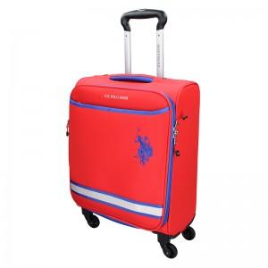 Kabinový cestovní kufr U.S. POLO ASSN Boston S - červená