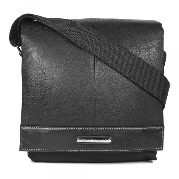 Pánská taška přes rameno Enrico Benetti Artur - černá
