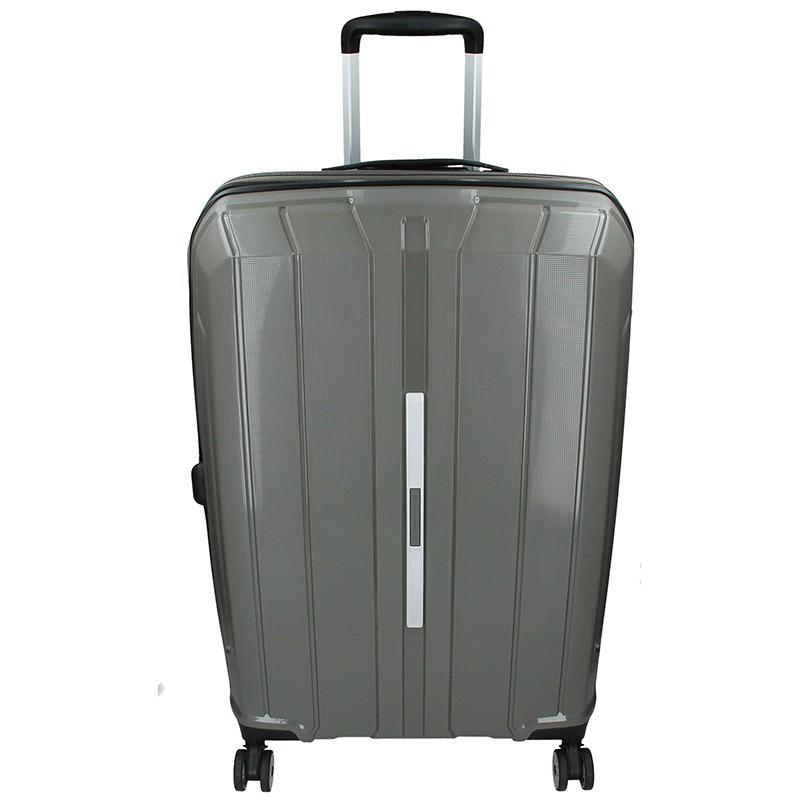 Cestovní kufr Snowball Barcelona L - šedá 95l