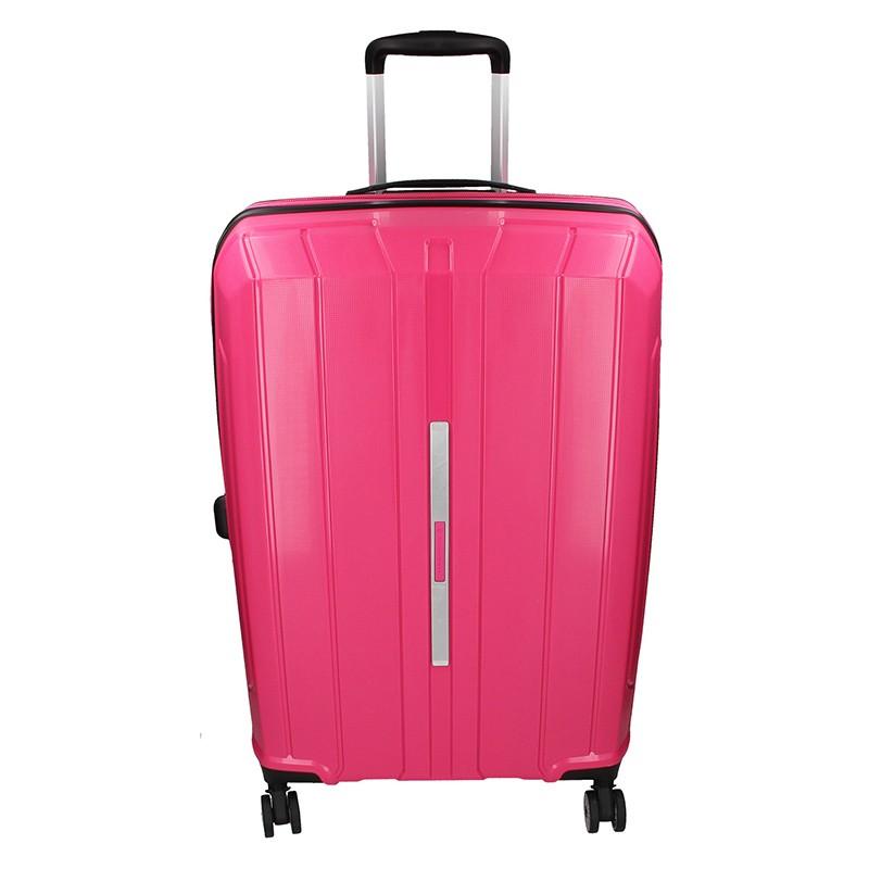 Cestovní kufr Snowball Barcelona M - růžová 65l