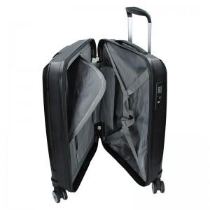 Cestovní kufr Snowball Barcelona L - černá