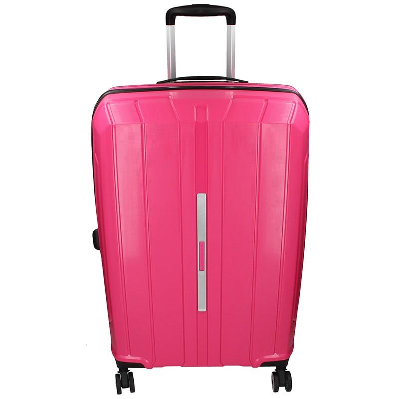 Cestovní kufr Snowball Barcelona L - růžová 95l