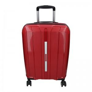 Cestovní kufr Snowball Barcelona S - vínová